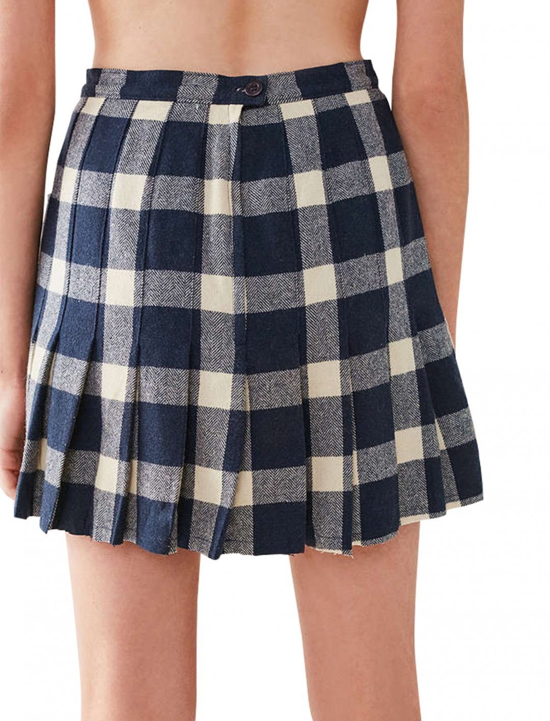 """Vintage Pleated Plaid Skirt {""""id"""":5,""""product_section_id"""":1,""""name"""":""""Clothing"""",""""order"""":5} Urban Outfitters"""