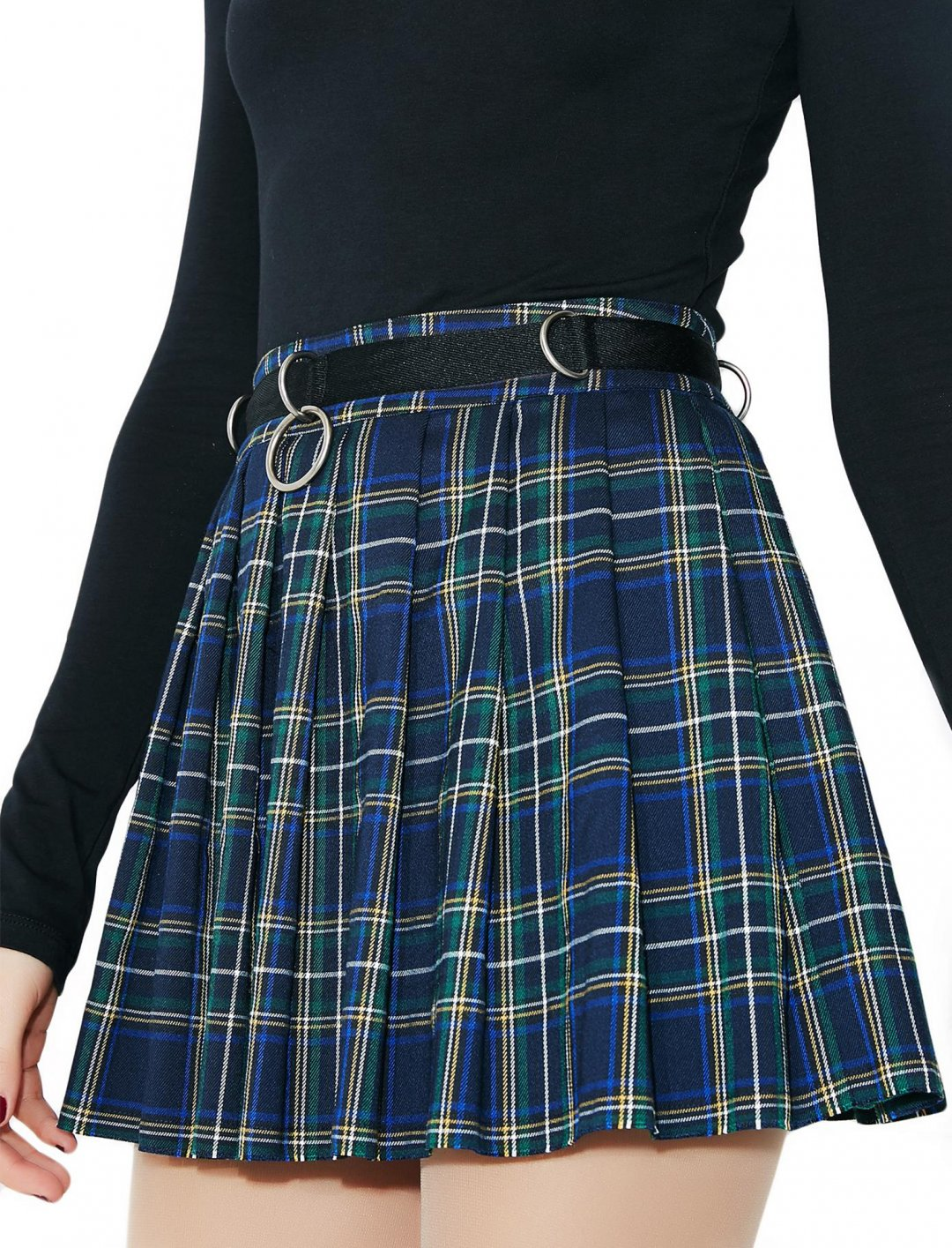 """Dress Code Plaid Skirt {""""id"""":5,""""product_section_id"""":1,""""name"""":""""Clothing"""",""""order"""":5} Dollskill"""