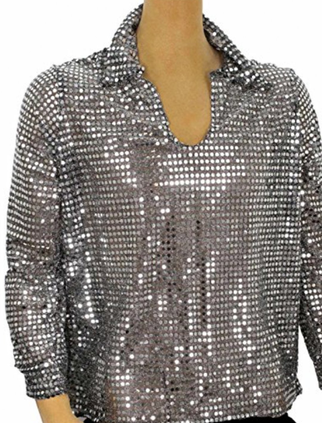 """Sequin Disco Shirt {""""id"""":5,""""product_section_id"""":1,""""name"""":""""Clothing"""",""""order"""":5} Largemouth"""