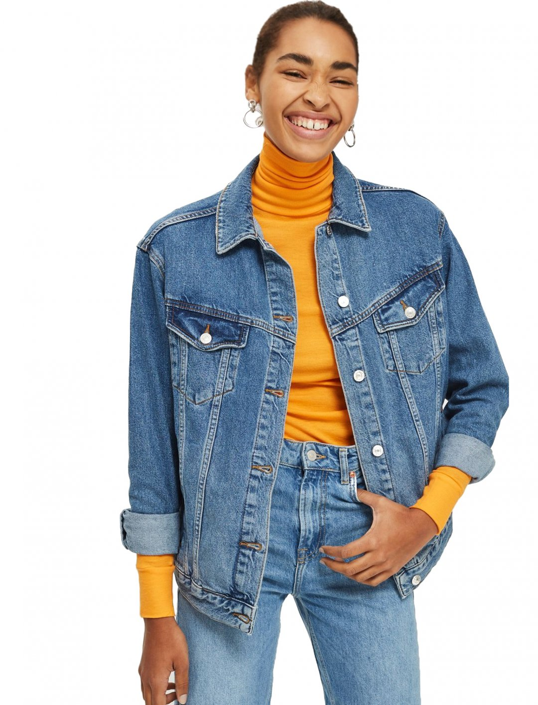 """Denim Jacket {""""id"""":5,""""product_section_id"""":1,""""name"""":""""Clothing"""",""""order"""":5} Top Shop"""