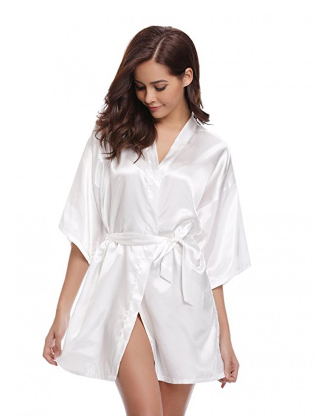 "Lady Leshurr's White Silk Robe {""id"":5,""product_section_id"":1,""name"":""Clothing"",""order"":5} Aibrou"