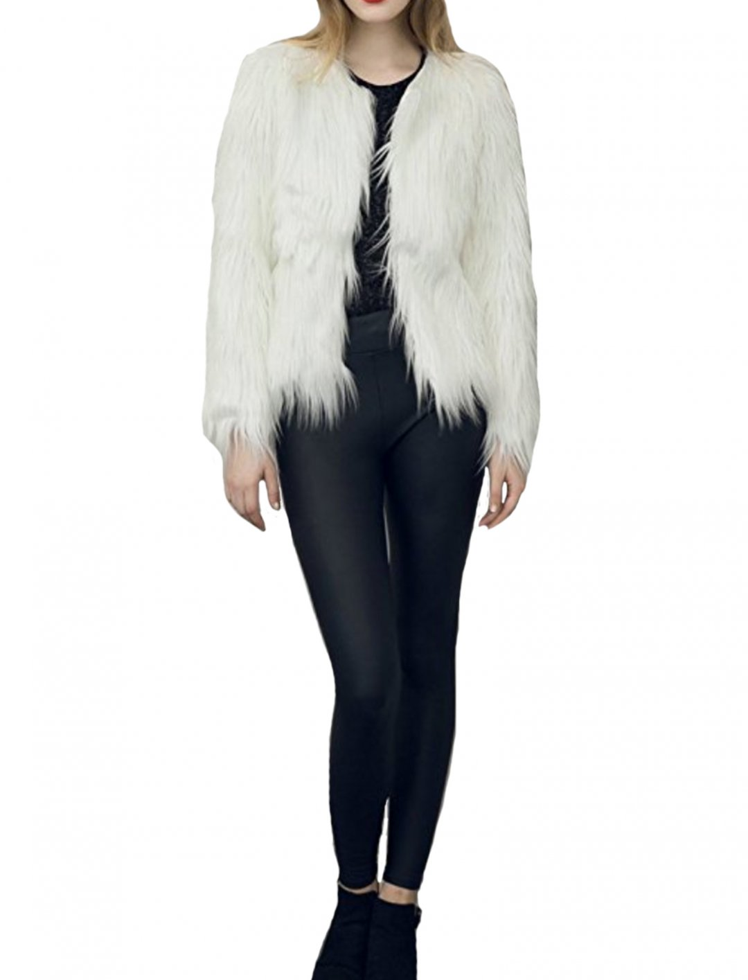"Faux Fur Jacket {""id"":5,""product_section_id"":1,""name"":""Clothing"",""order"":5} Simplee Apparel"