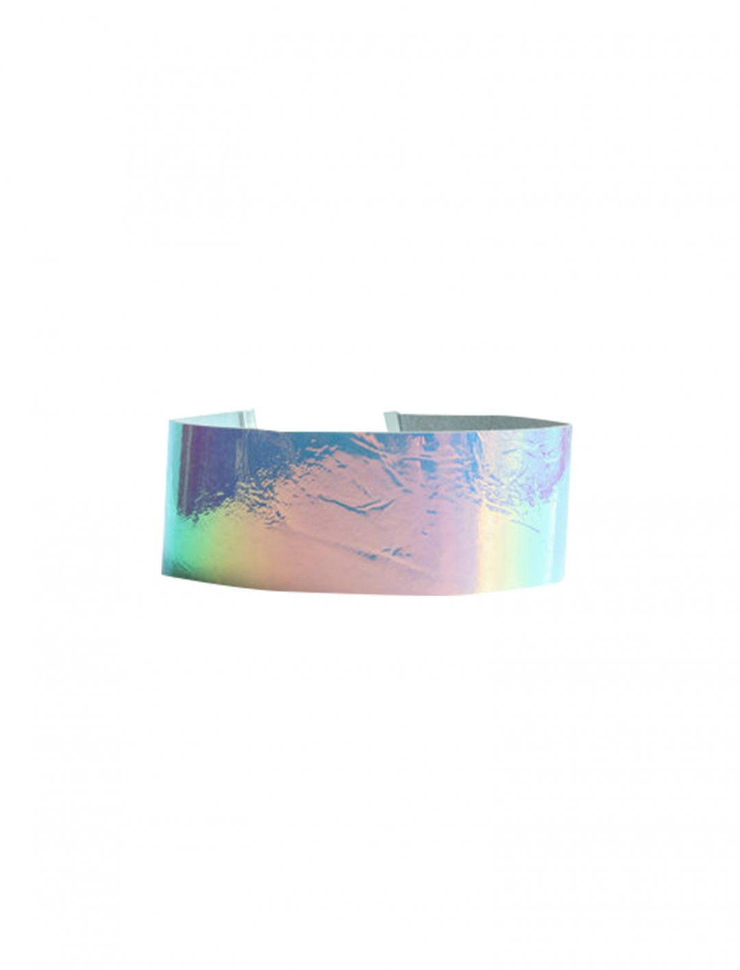 "Leather Hologram Choker Necklace {""id"":16,""product_section_id"":1,""name"":""Accessories"",""order"":15} Etsy"