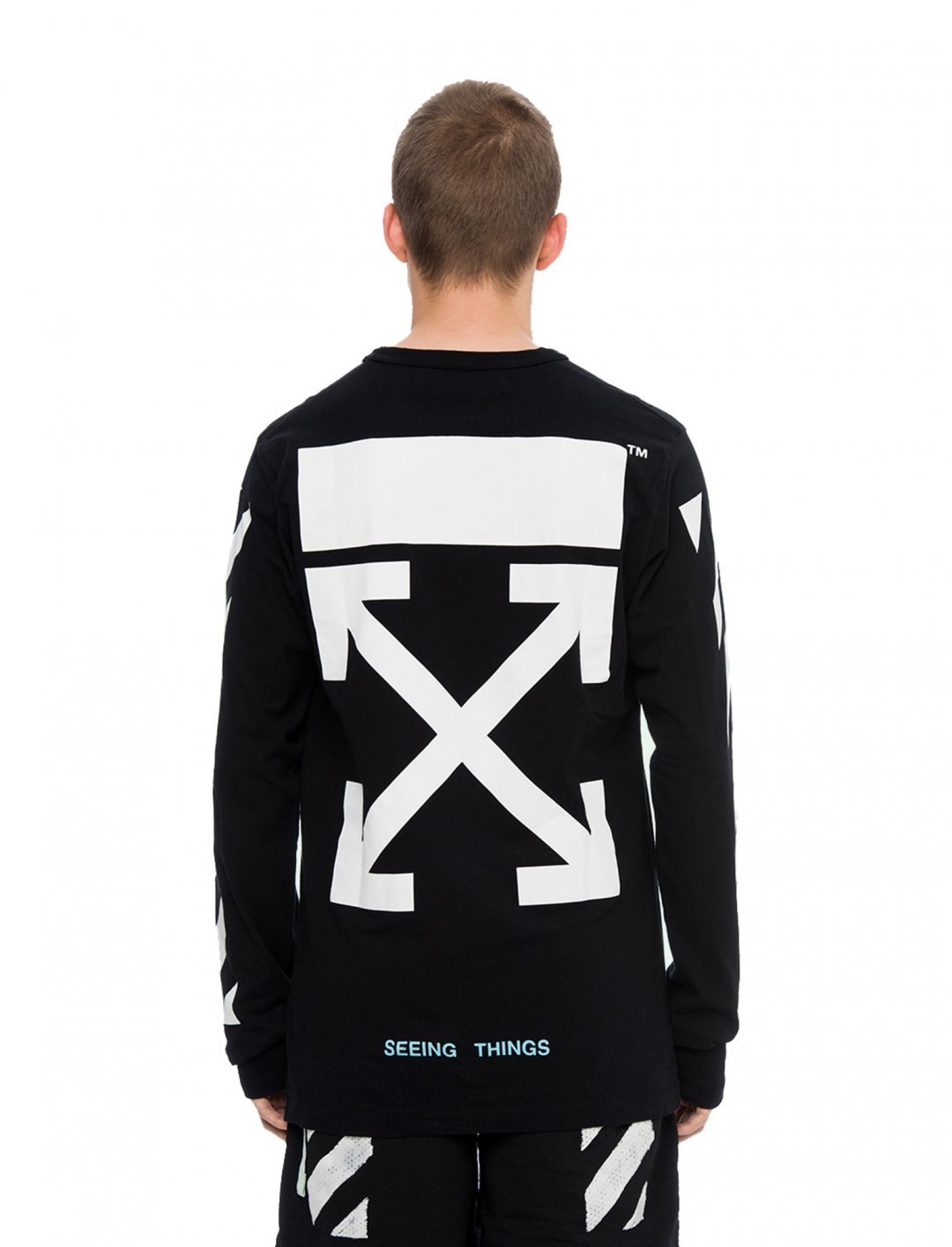 "Not3s' Crewneck Sweatshirt {""id"":5,""product_section_id"":1,""name"":""Clothing"",""order"":5} Off-White"