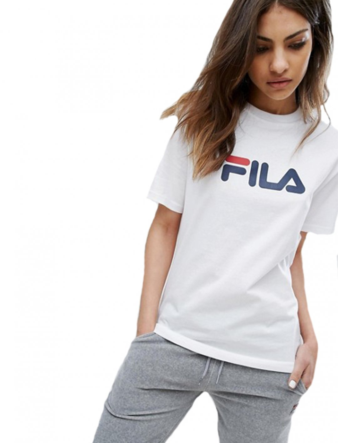 "Oversized Boyfriend T-Shirt {""id"":5,""product_section_id"":1,""name"":""Clothing"",""order"":5} Fila"