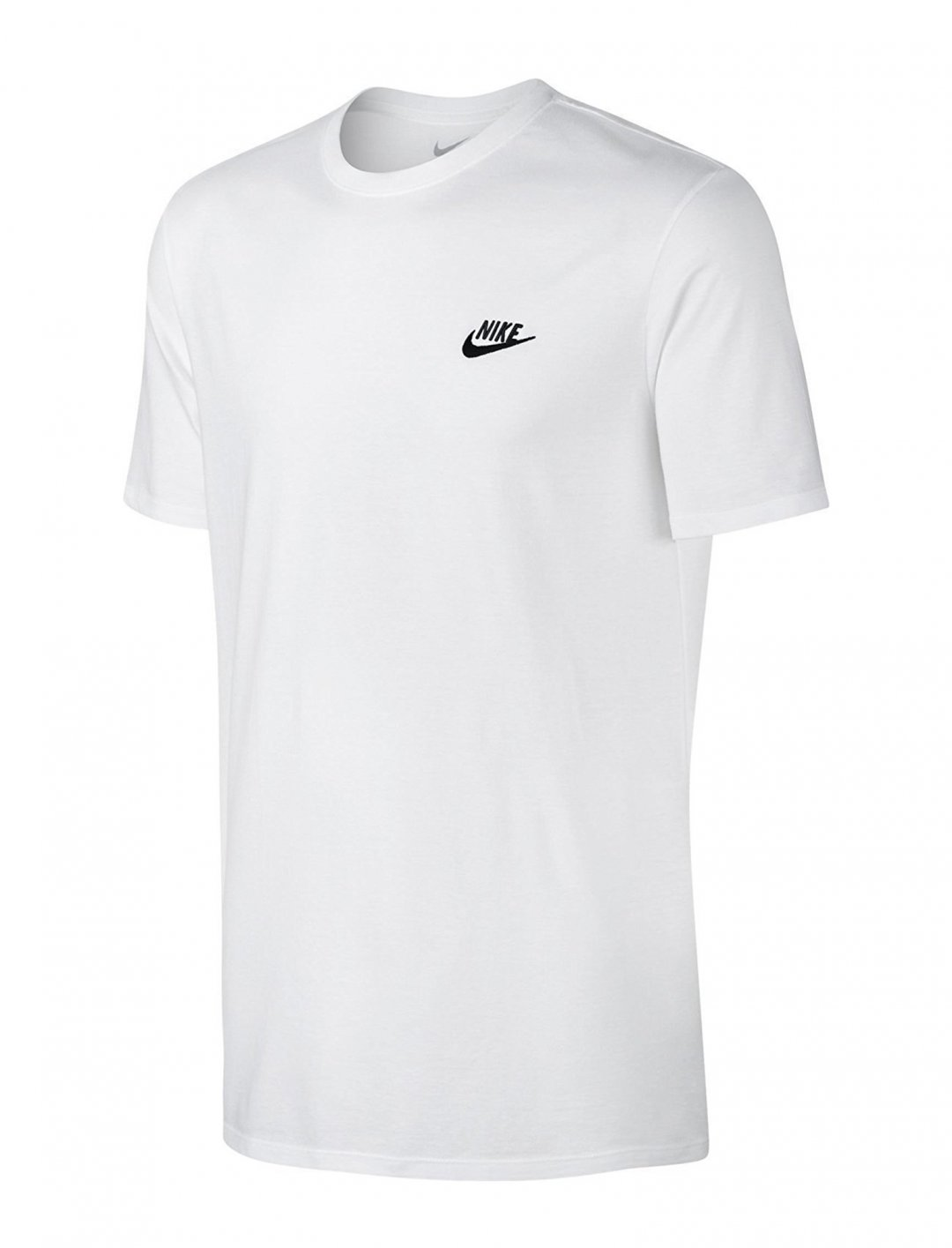 "White Embroidered Tee {""id"":5,""product_section_id"":1,""name"":""Clothing"",""order"":5} Nike"