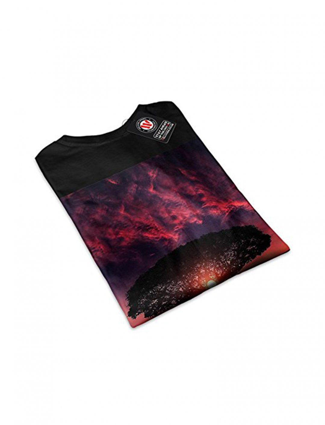 "Ocean Sunset T-Shirt {""id"":5,""product_section_id"":1,""name"":""Clothing"",""order"":5} Wellcoda"
