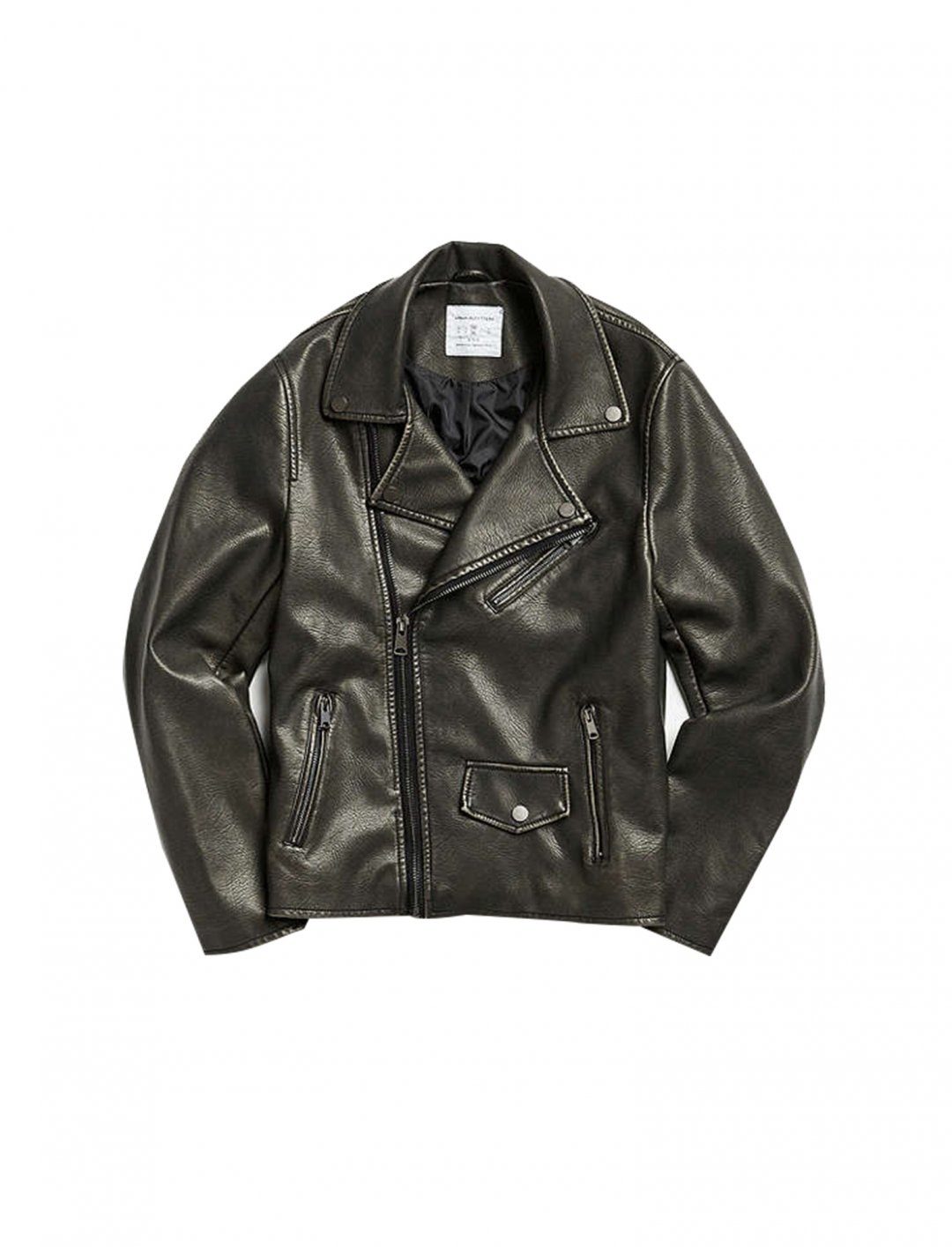"Faux Leather Moto Jacket {""id"":5,""product_section_id"":1,""name"":""Clothing"",""order"":5} UO"
