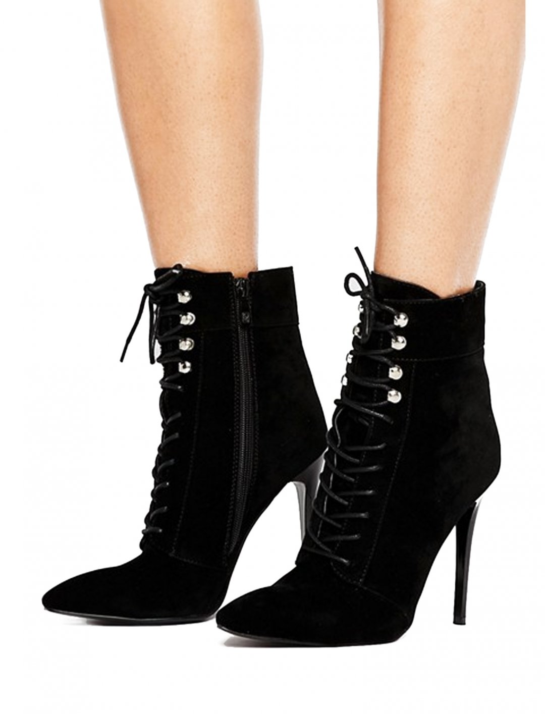 "Lace Up Point Boots {""id"":5,""product_section_id"":1,""name"":""Clothing"",""order"":5} Public Desire"