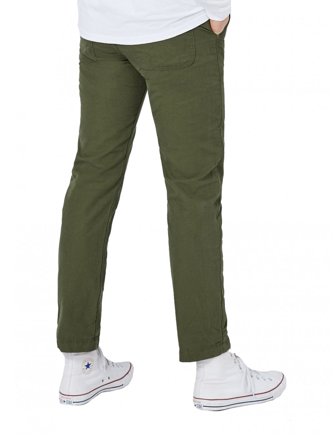 Khaki Fit Chinos Clothing Topman