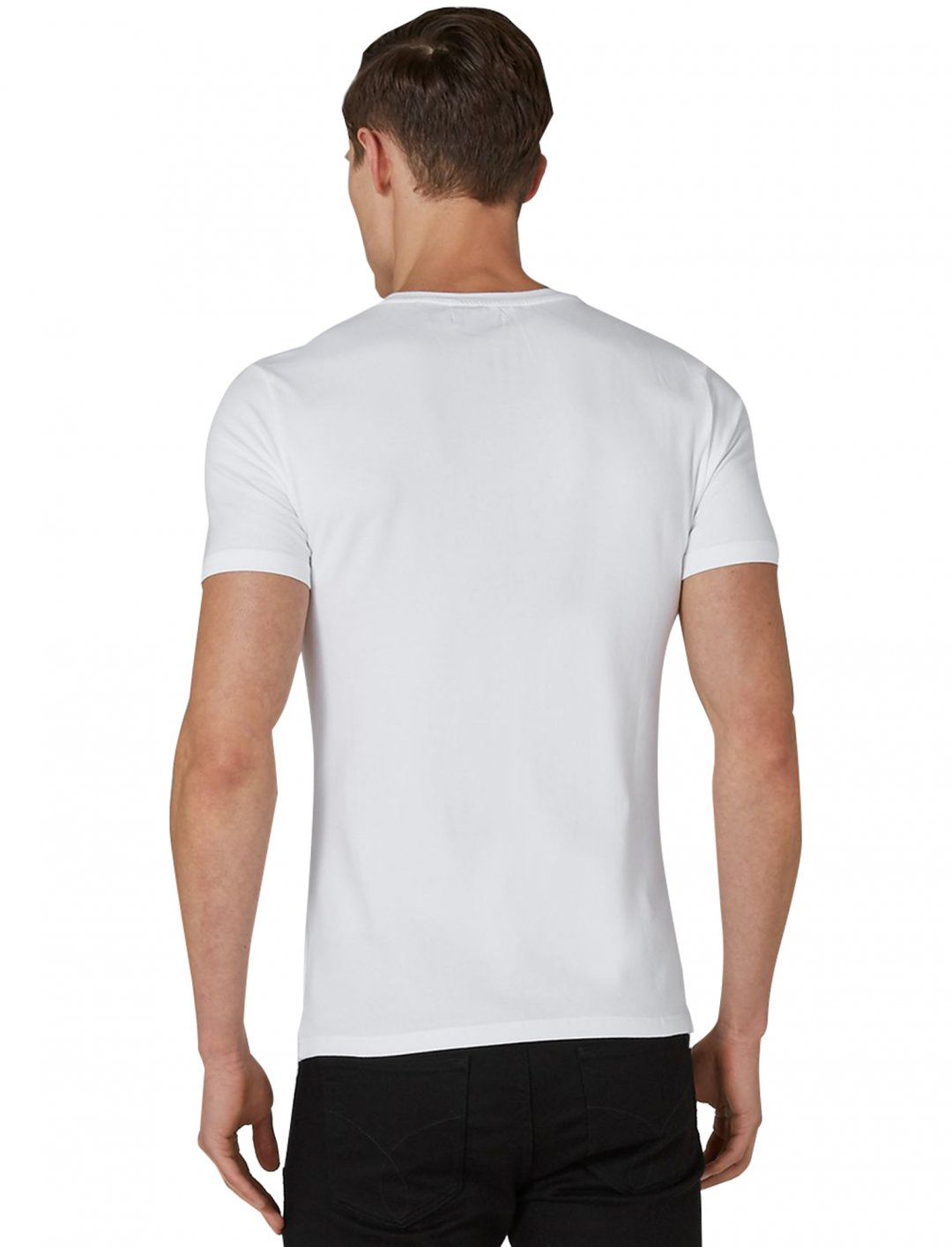 White Fit T-Shirt Clothing Topman