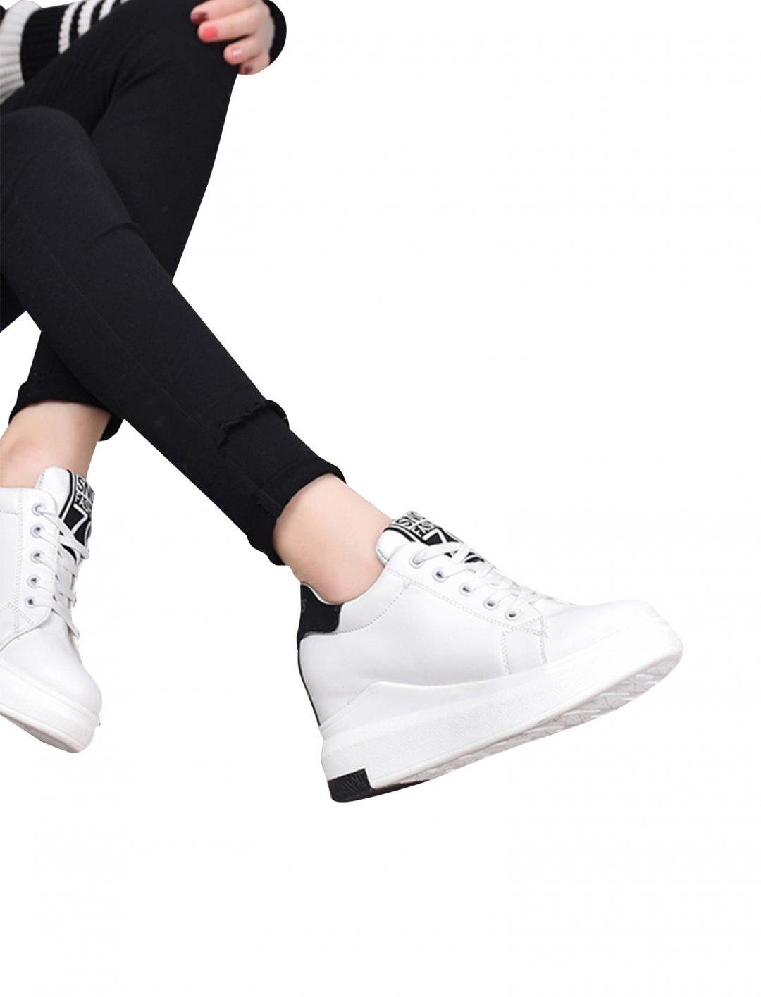 Wedge Trainers Shoes Romwe