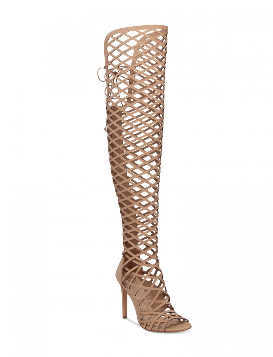 """Over The Knee Caged Sandals {""""id"""":12,""""product_section_id"""":1,""""name"""":""""Shoes"""",""""order"""":12} Vince Camuto"""
