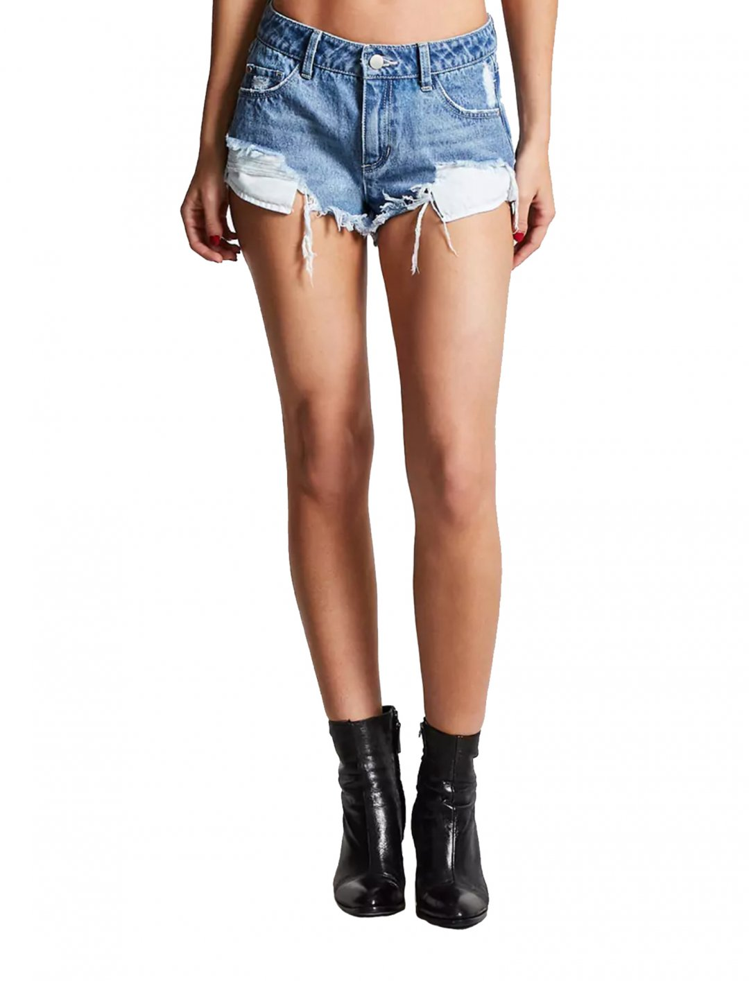 """Distressed Denim Shorts {""""id"""":5,""""product_section_id"""":1,""""name"""":""""Clothing"""",""""order"""":5} Forever21"""
