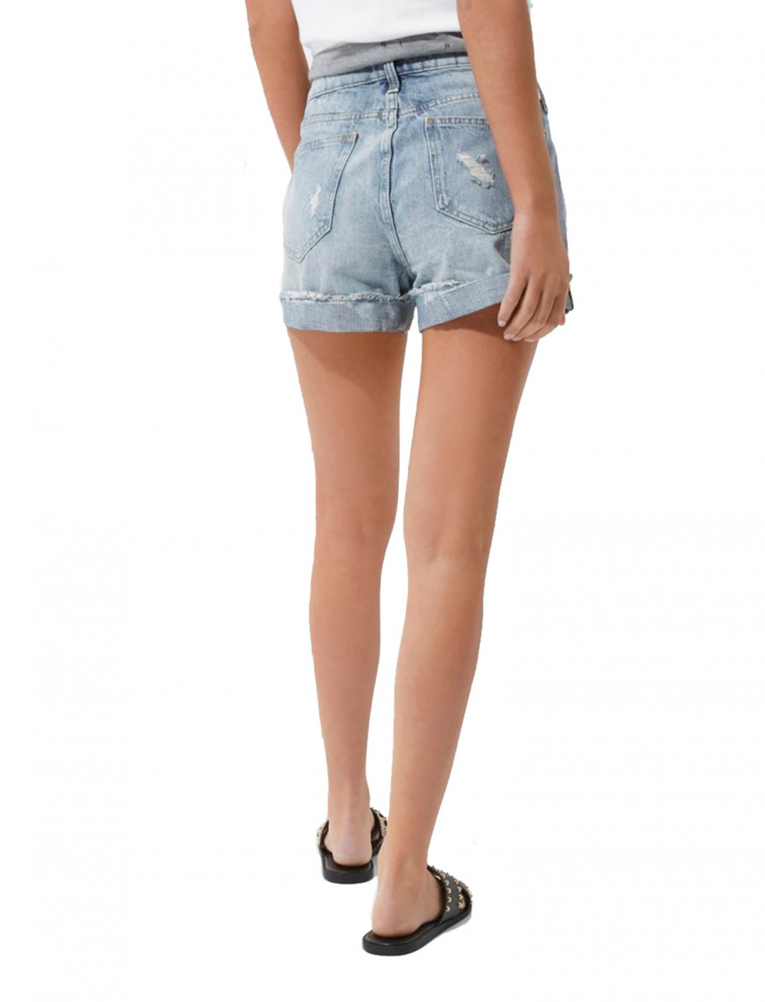 """Ripped Boyfriend Shorts {""""id"""":5,""""product_section_id"""":1,""""name"""":""""Clothing"""",""""order"""":5} River Island"""