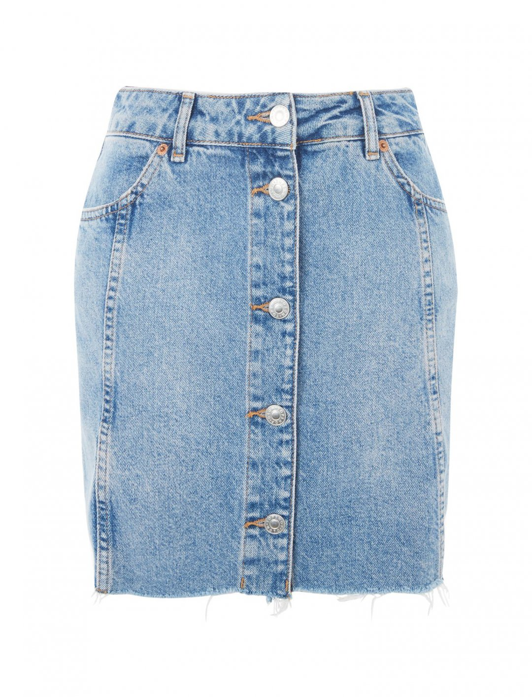 """Button Through Mini Skirt {""""id"""":5,""""product_section_id"""":1,""""name"""":""""Clothing"""",""""order"""":5} Moto"""
