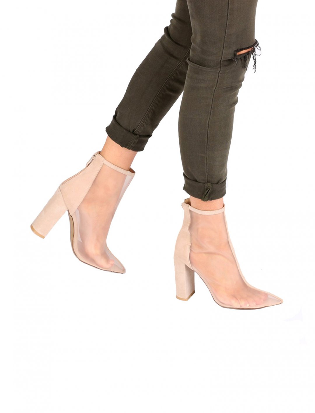"""Mesh Front Ankle Boot {""""id"""":5,""""product_section_id"""":1,""""name"""":""""Clothing"""",""""order"""":5} Public Desire"""