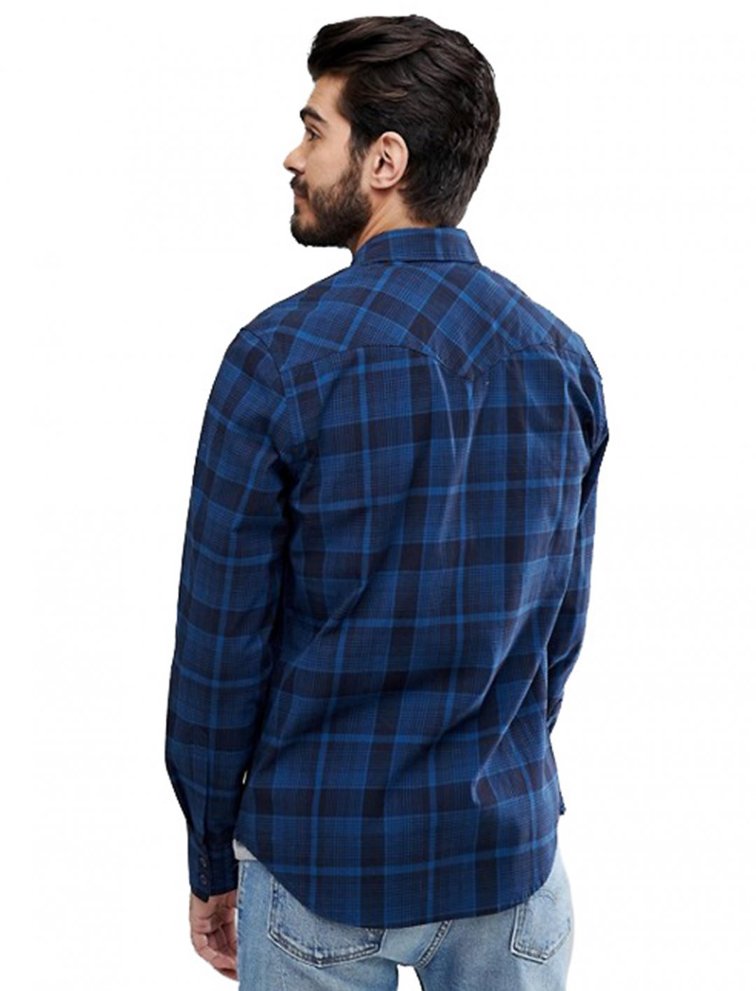 "Check Sunset Pocket Shirt {""id"":5,""product_section_id"":1,""name"":""Clothing"",""order"":5} Levi's"