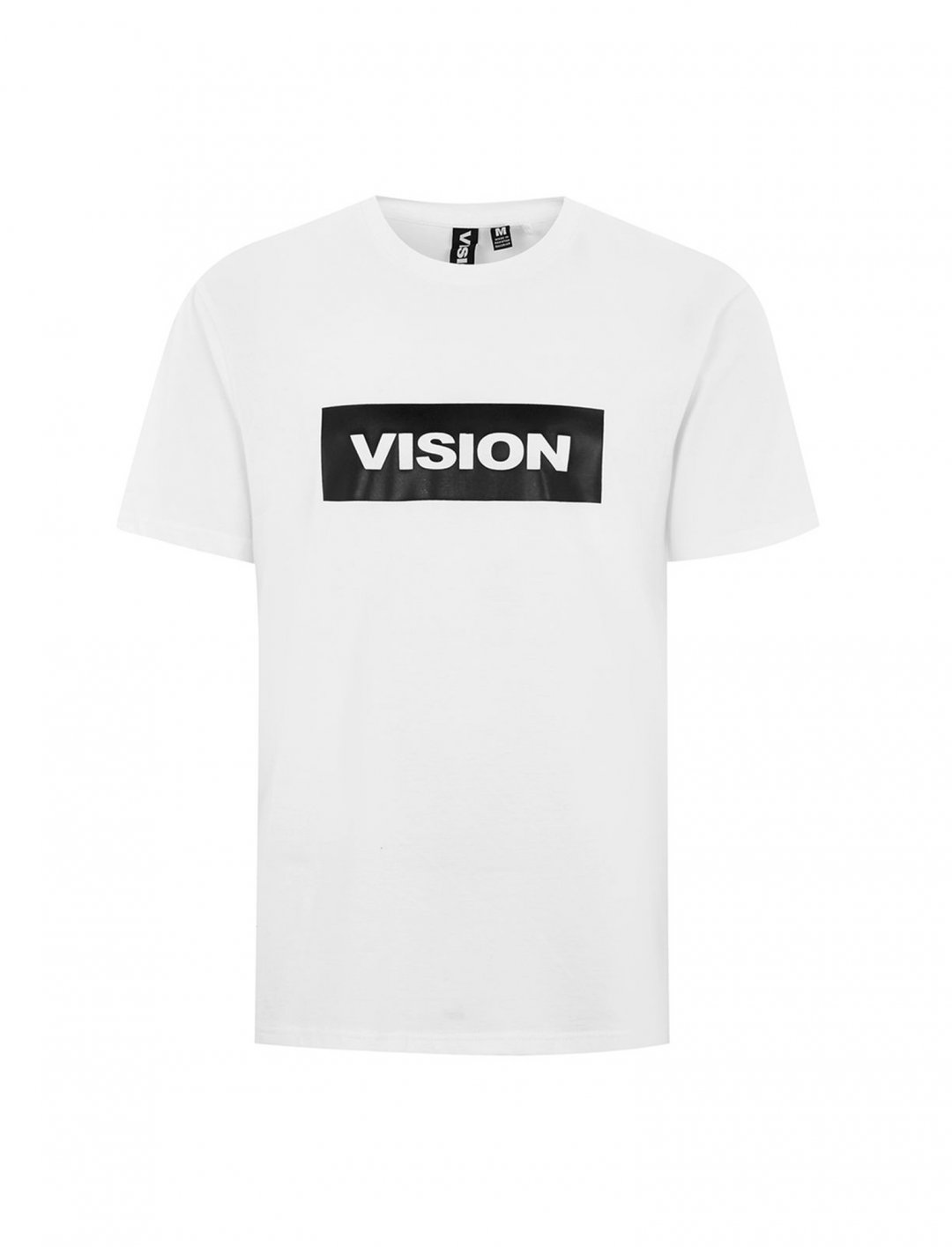 White Essential T-Shirt Clothing Vision