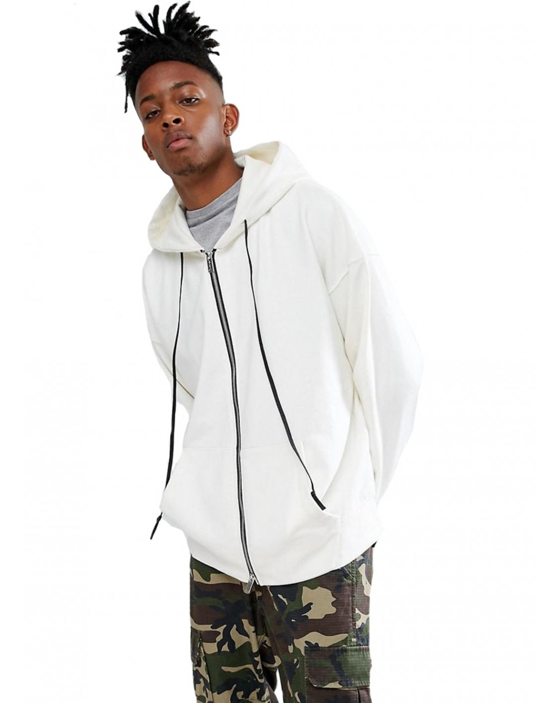 "Zip Thru Hoodie {""id"":5,""product_section_id"":1,""name"":""Clothing"",""order"":5} Mennance"