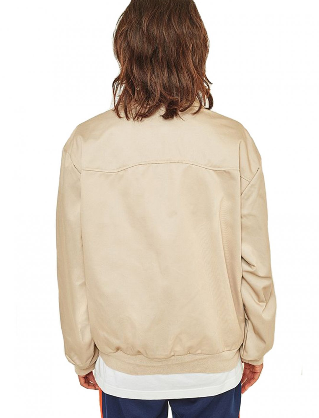 "Oversized Sand Harrington Jacket {""id"":5,""product_section_id"":1,""name"":""Clothing"",""order"":5} Urban Outfitters"