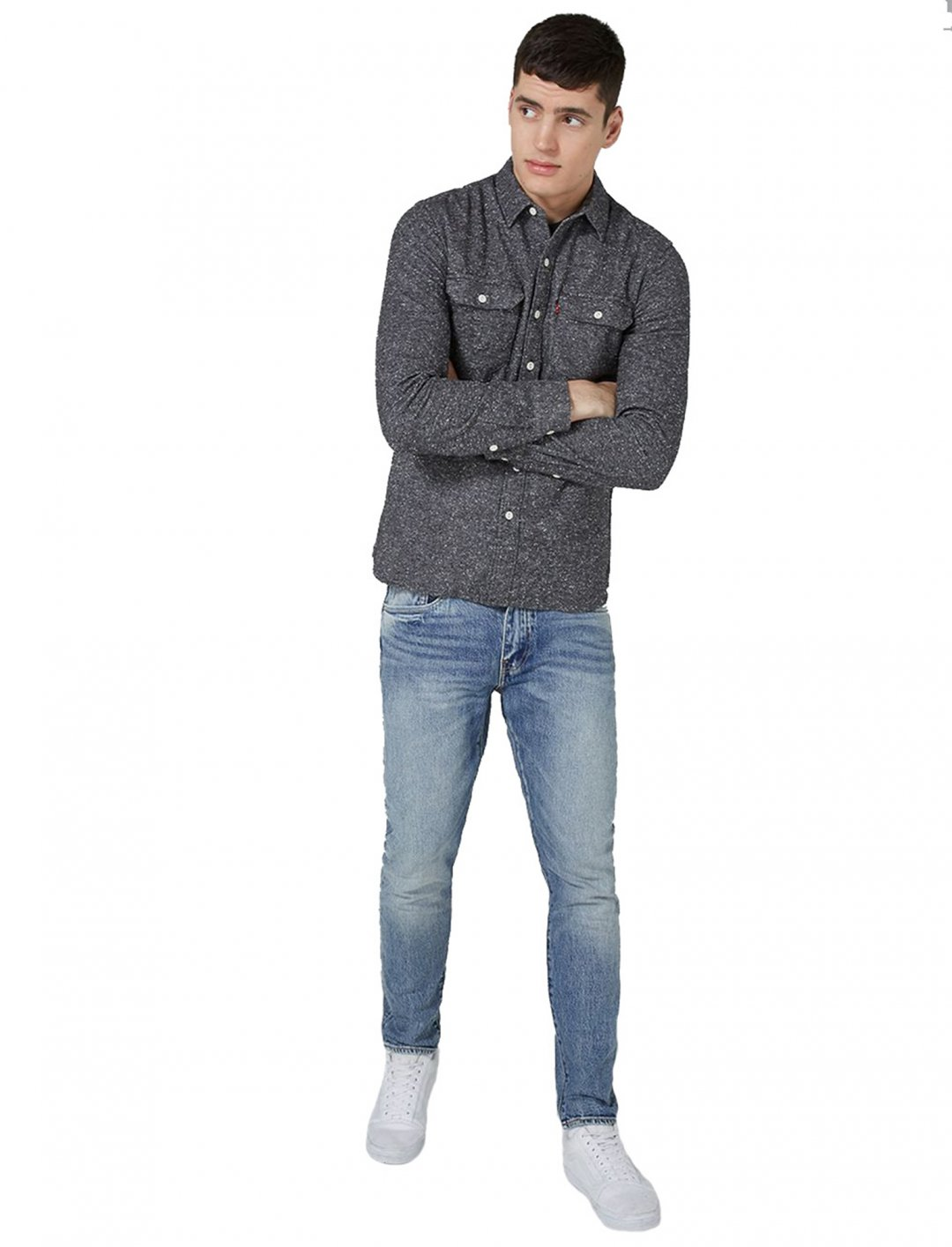 "Slim Tapered Jeans {""id"":5,""product_section_id"":1,""name"":""Clothing"",""order"":5} Levi's"