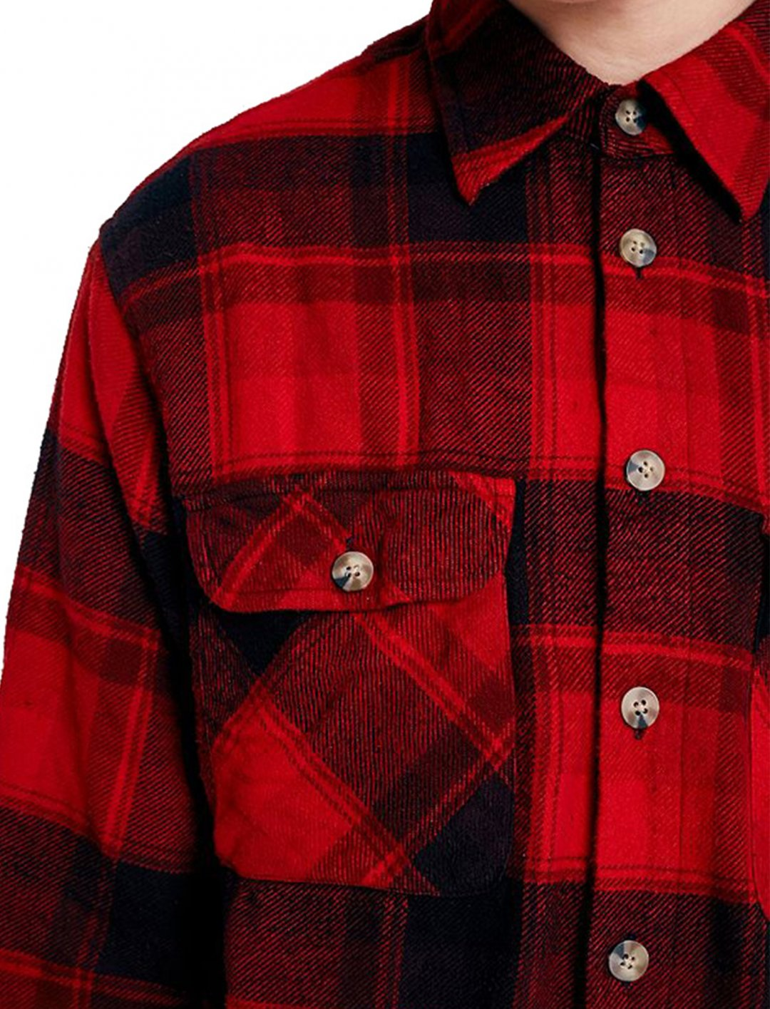 Overdyed Flannel Shirt Clothing Urban Renewal