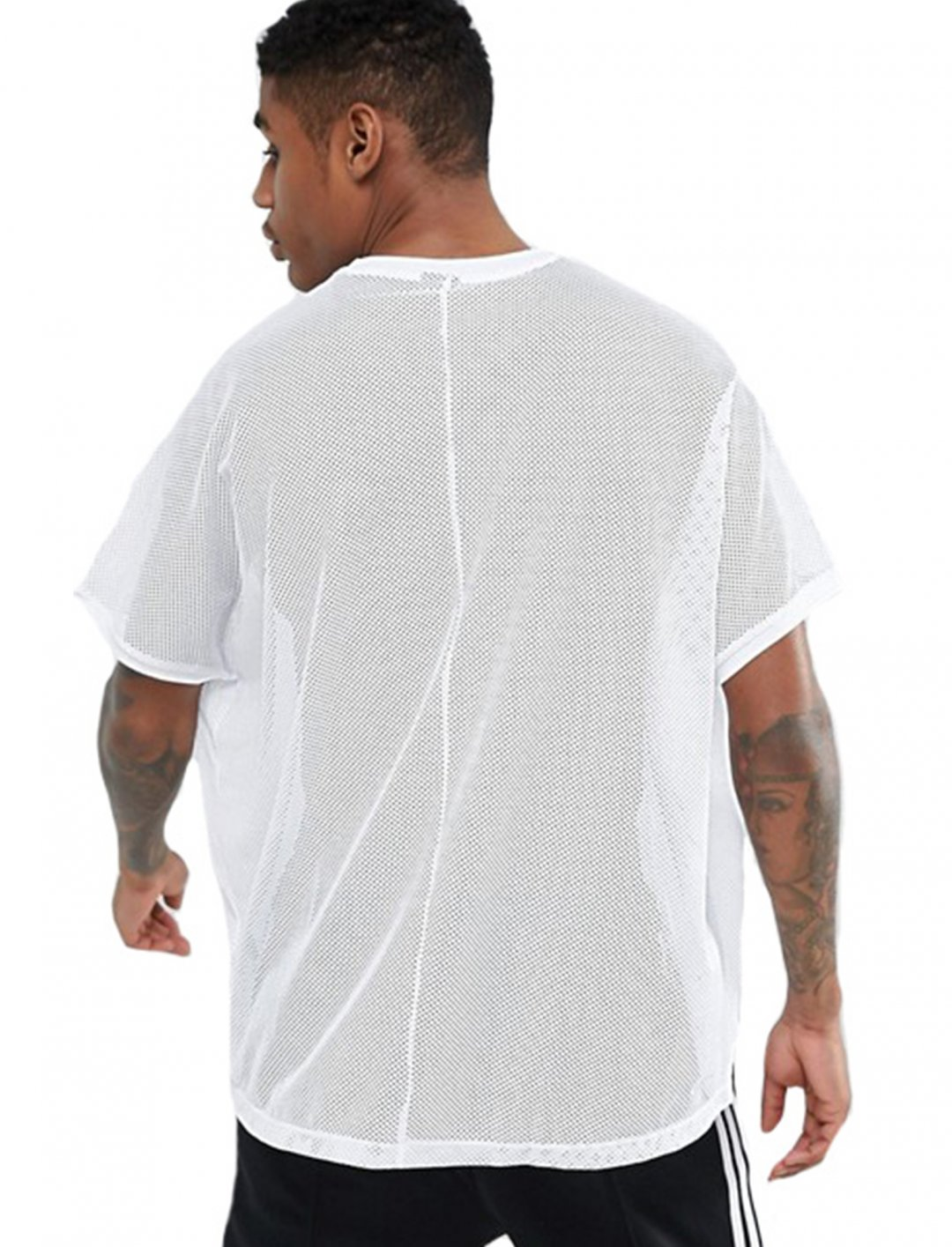 "Asos Mesh T-Shirt {""id"":5,""product_section_id"":1,""name"":""Clothing"",""order"":5} Asos"