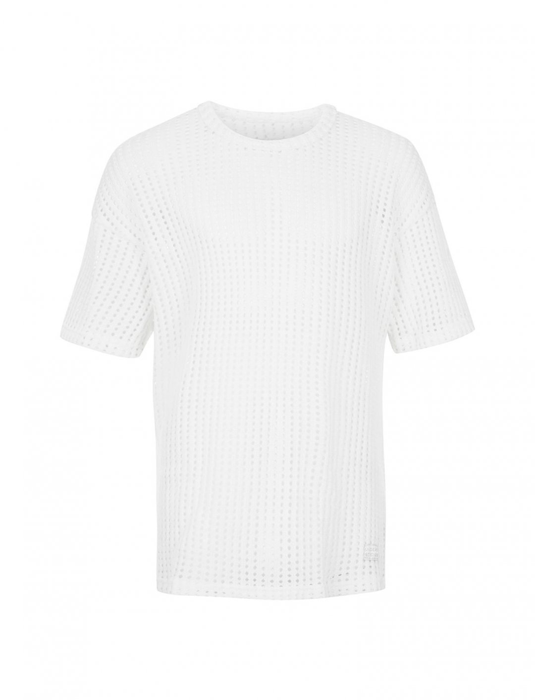 "White Mesh T-Shirt {""id"":5,""product_section_id"":1,""name"":""Clothing"",""order"":5} Undead Studios"