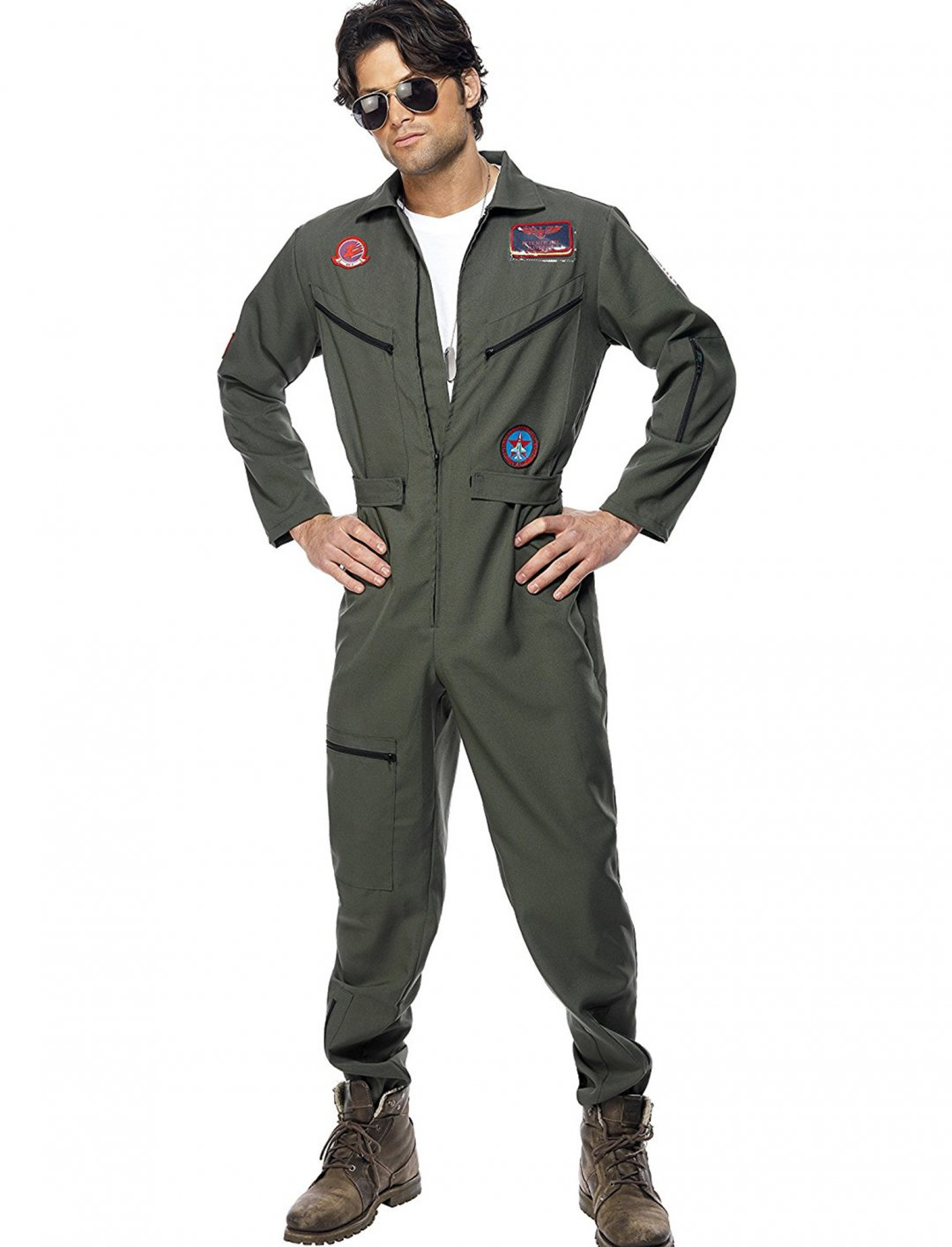 "Smiffy's Green Jumpsuit {""id"":5,""product_section_id"":1,""name"":""Clothing"",""order"":5} Smiffy's"