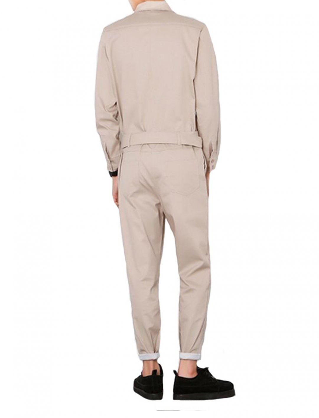 "Long Sleeve Zip Up Jumpsuit {""id"":5,""product_section_id"":1,""name"":""Clothing"",""order"":5}"