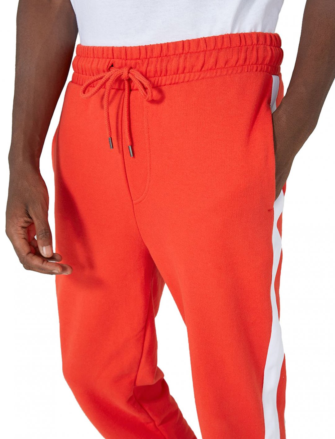 "Red Taped Skinny Joggers {""id"":5,""product_section_id"":1,""name"":""Clothing"",""order"":5} Topman"