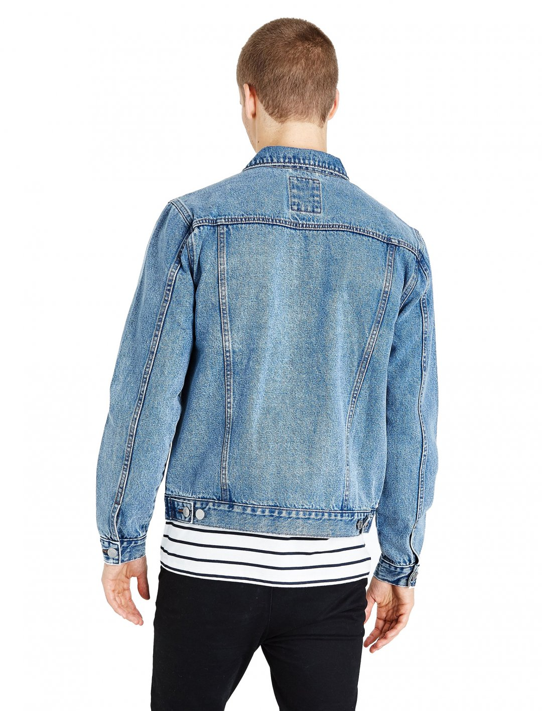 "Pale Blue Denim Jacket {""id"":5,""product_section_id"":1,""name"":""Clothing"",""order"":5} New Look"