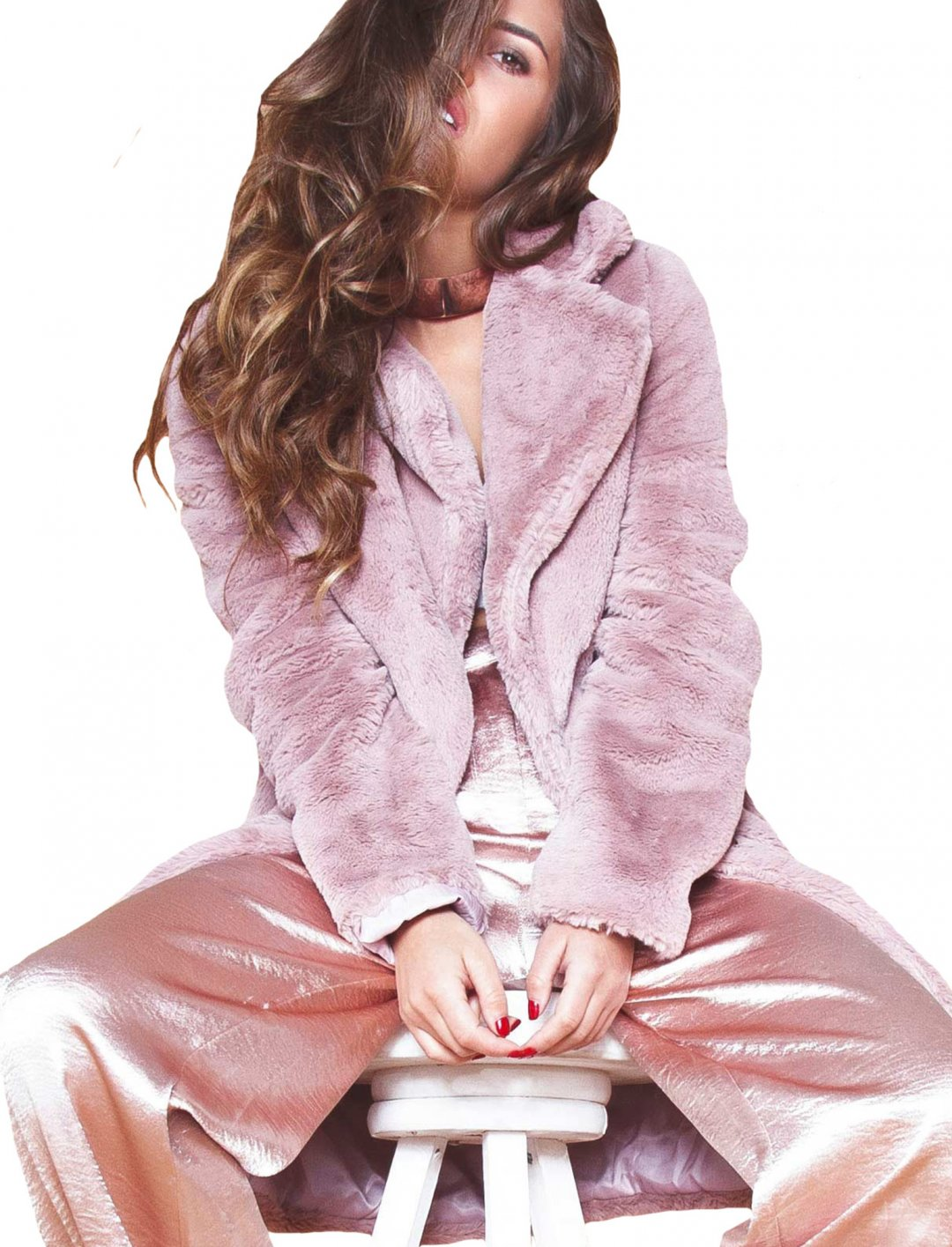 "Missy Empire Pink Coat {""id"":5,""product_section_id"":1,""name"":""Clothing"",""order"":5} Missy Empire"
