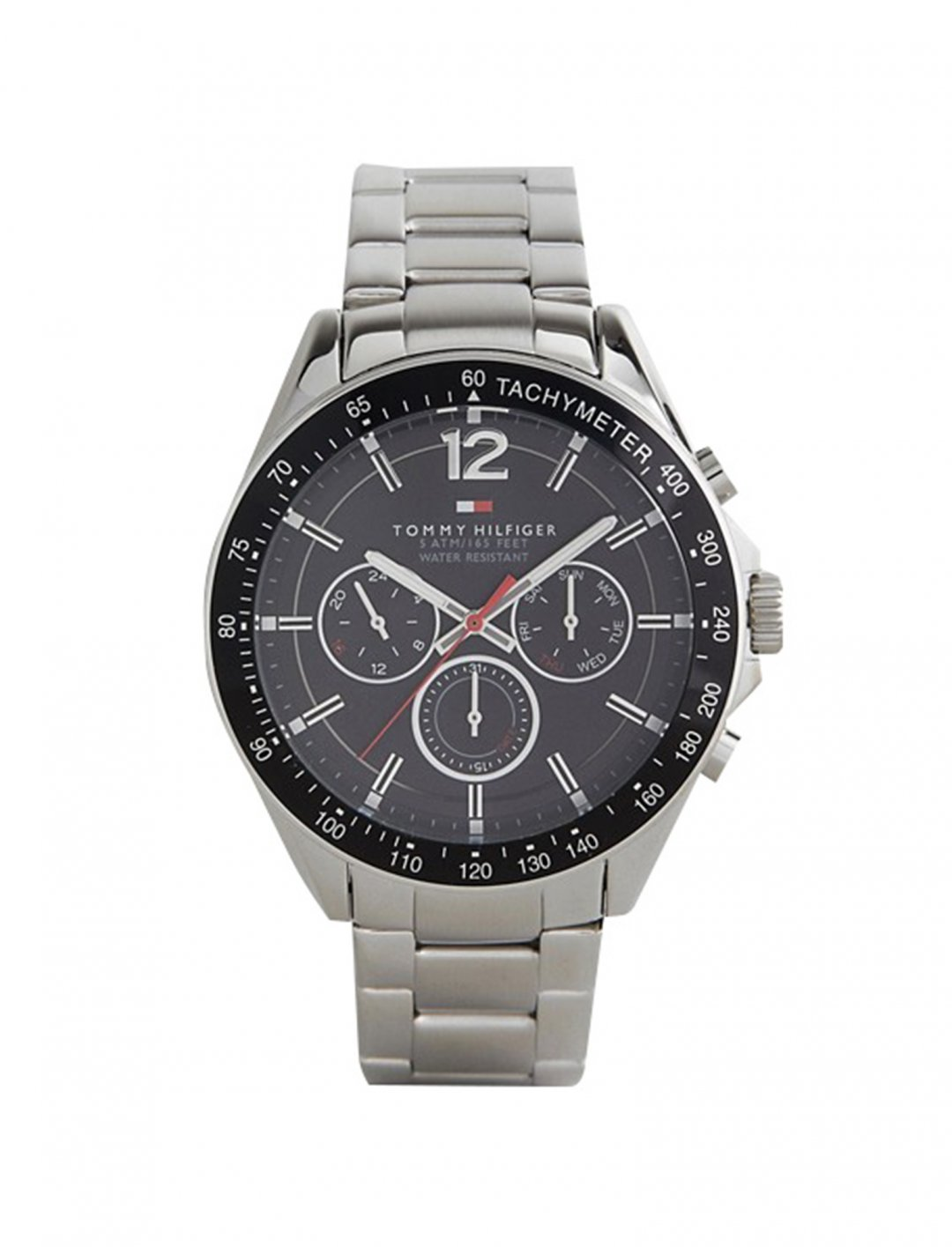 "Silver Strap Watcht {""id"":16,""product_section_id"":1,""name"":""Accessories"",""order"":15} Tommy Hilfiger"