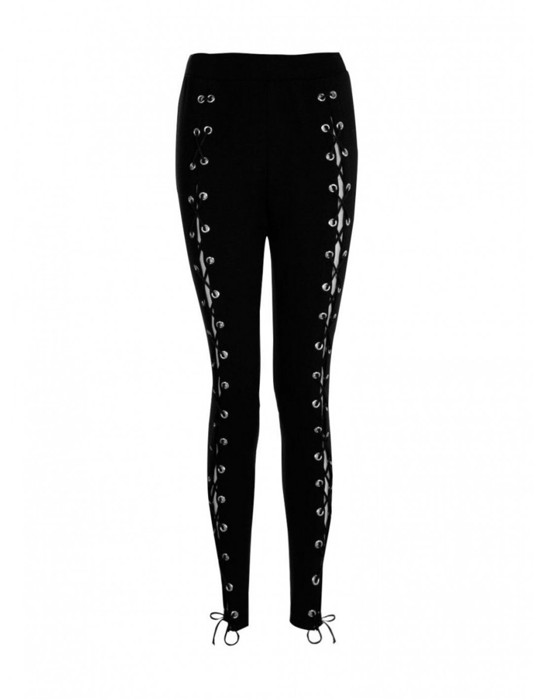 "Lace Up Front Leggings {""id"":5,""product_section_id"":1,""name"":""Clothing"",""order"":5} Boohoo"