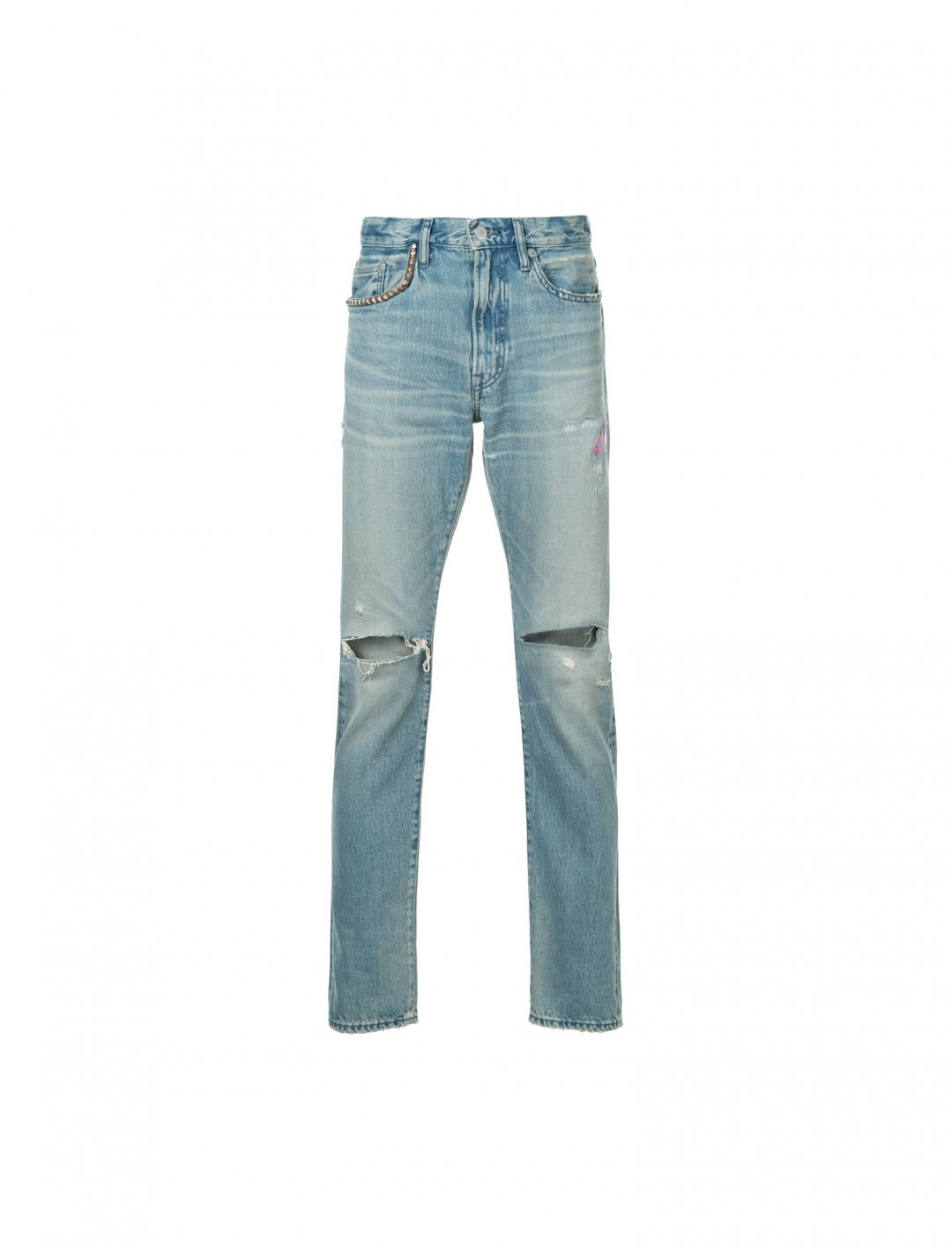 """Distressed Slim Fit Jeans {""""id"""":5,""""product_section_id"""":1,""""name"""":""""Clothing"""",""""order"""":5} Hysteric Glamour"""