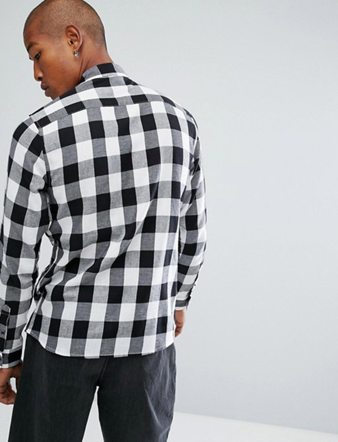 """Button Down Check Shirt {""""id"""":5,""""product_section_id"""":1,""""name"""":""""Clothing"""",""""order"""":5} Troy"""