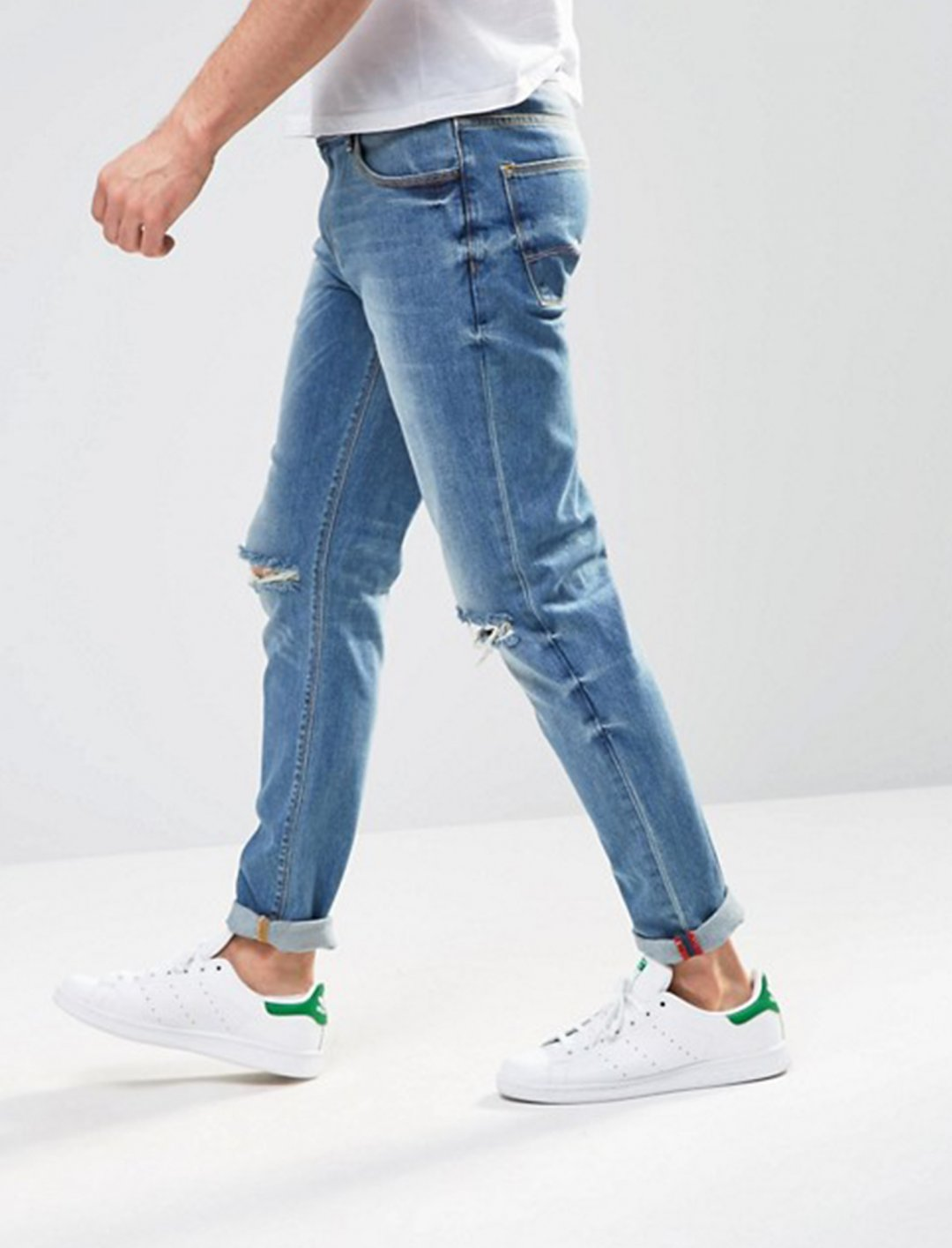"""Ripped Knee Skinny Jeans {""""id"""":5,""""product_section_id"""":1,""""name"""":""""Clothing"""",""""order"""":5} Asos"""