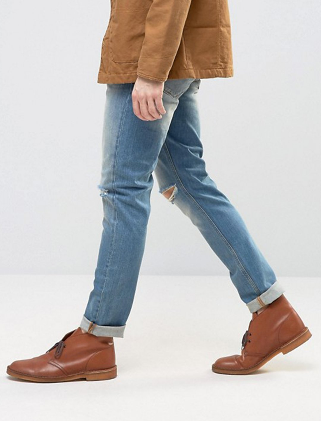 """Skinny Jeans With Knee Rips {""""id"""":5,""""product_section_id"""":1,""""name"""":""""Clothing"""",""""order"""":5} Asos"""