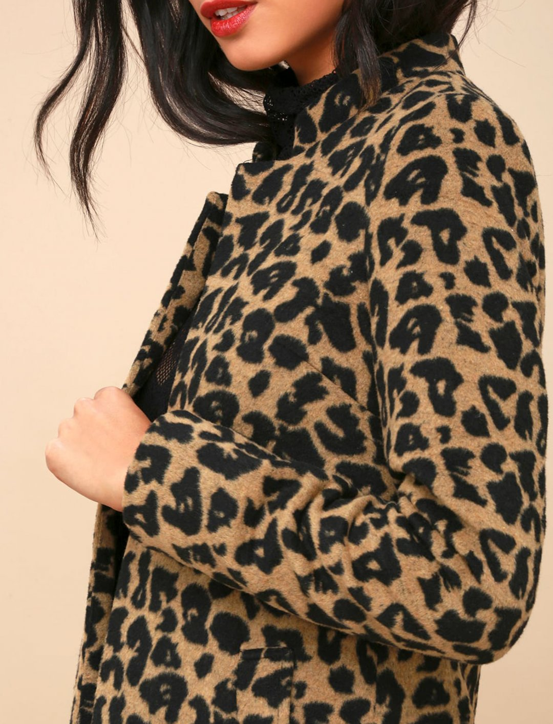 "Grace's Leopard Print Coat {""id"":5,""product_section_id"":1,""name"":""Clothing"",""order"":5} Lulus"