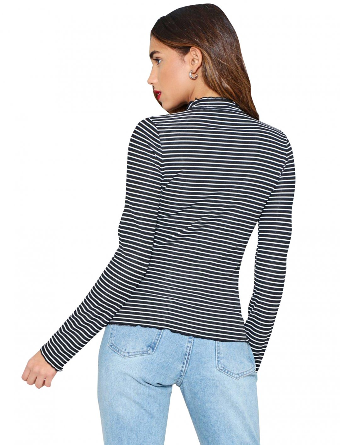 "It'll Be All Stripe Top {""id"":5,""product_section_id"":1,""name"":""Clothing"",""order"":5} Nastygal"