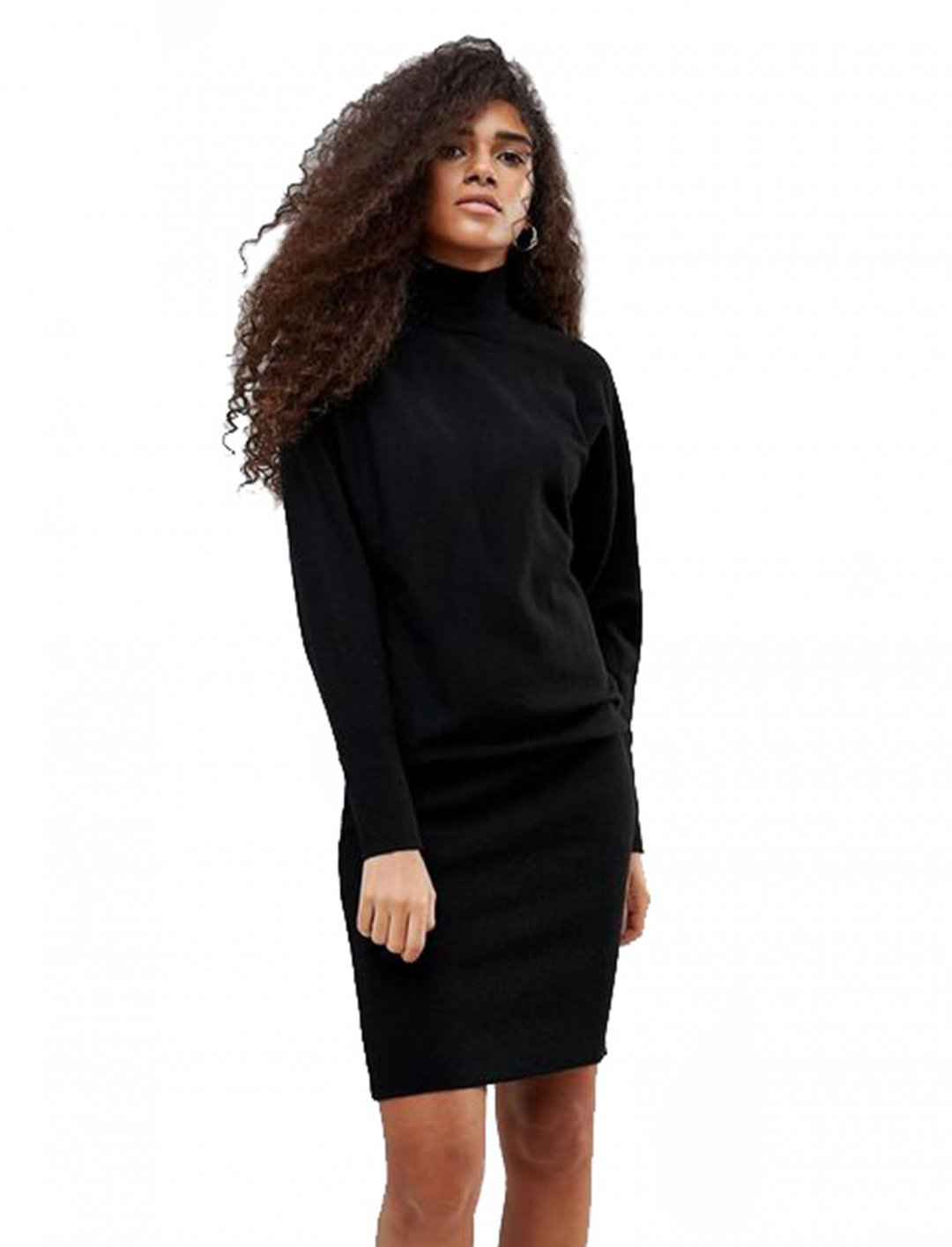 "High Neck Jumper Dress {""id"":5,""product_section_id"":1,""name"":""Clothing"",""order"":5} b. Young"