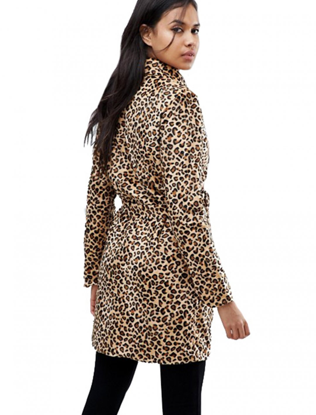 "Belted Leopard Coat {""id"":5,""product_section_id"":1,""name"":""Clothing"",""order"":5} Parisian"