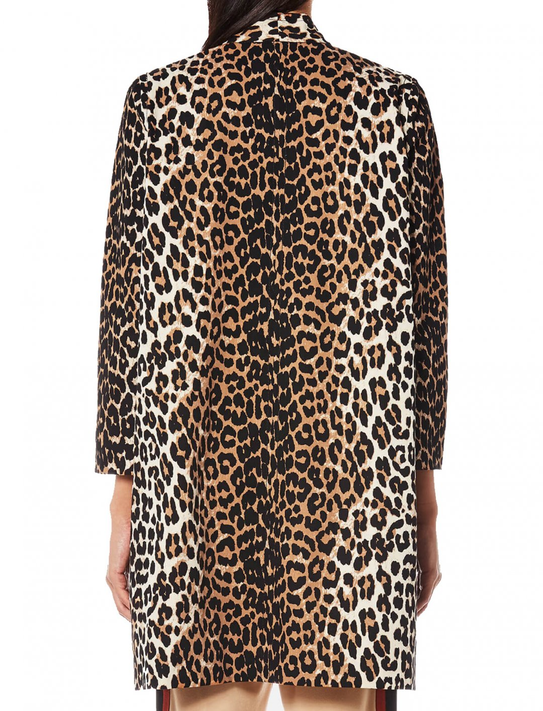 "Leopard Print Coat {""id"":5,""product_section_id"":1,""name"":""Clothing"",""order"":5} Ganni"