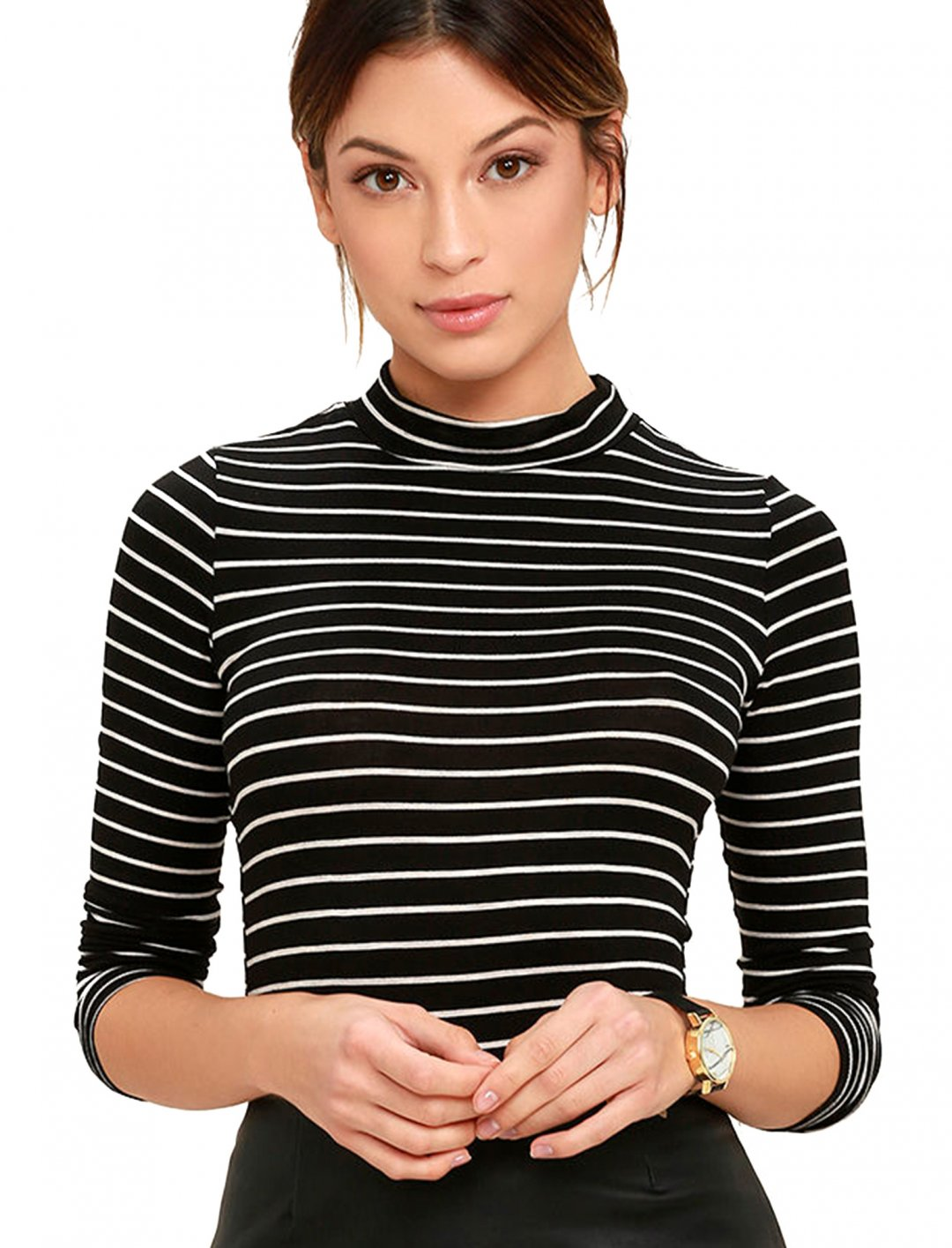 "Grace's Striped Top {""id"":5,""product_section_id"":1,""name"":""Clothing"",""order"":5} Lulus"