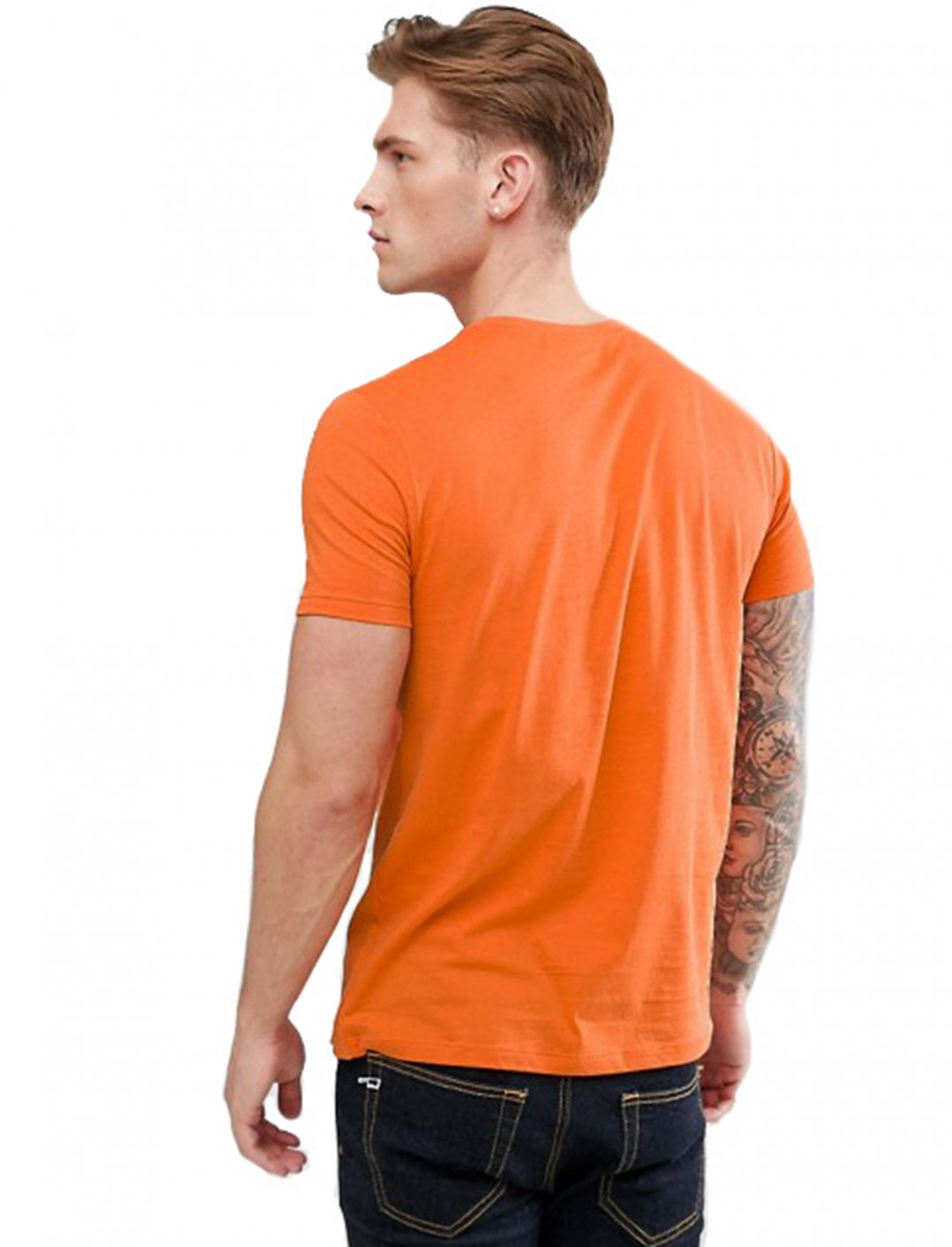 """Not3s' Orange T-Shirt {""""id"""":5,""""product_section_id"""":1,""""name"""":""""Clothing"""",""""order"""":5} Asos"""