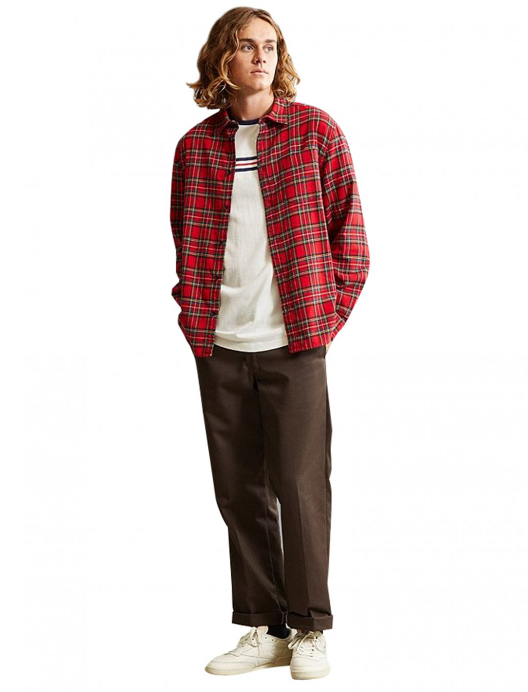 "Plaid Flannel Shirt {""id"":5,""product_section_id"":1,""name"":""Clothing"",""order"":5} Urban Outfitters"