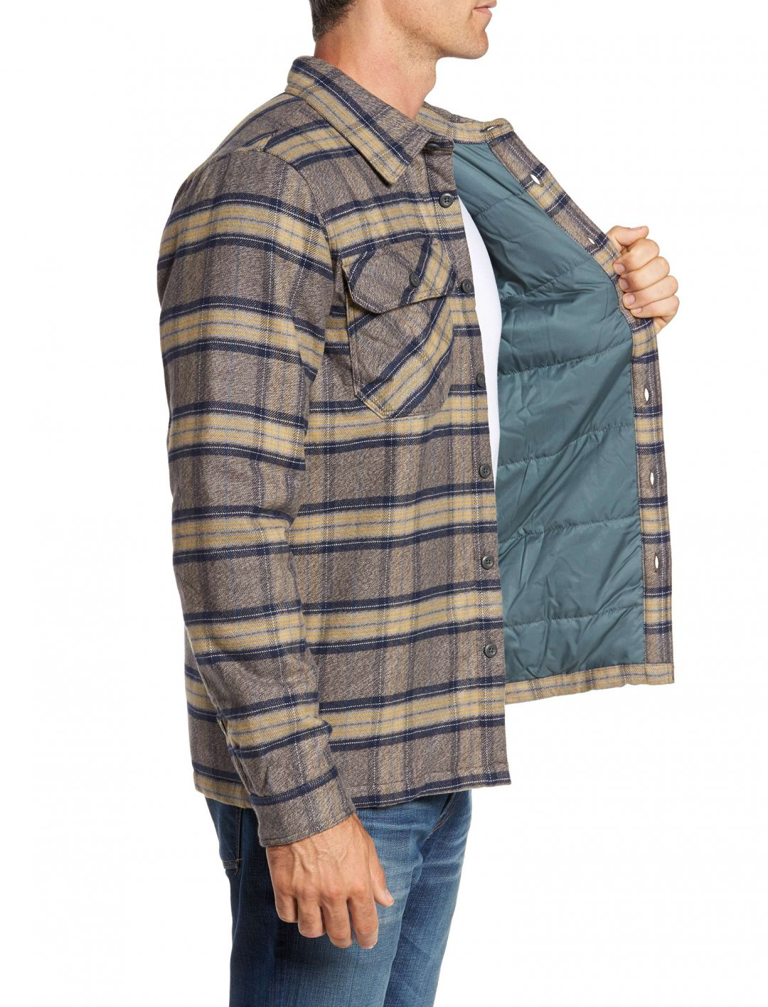 "Flannel Shirt Jacket {""id"":5,""product_section_id"":1,""name"":""Clothing"",""order"":5} Patagonia"