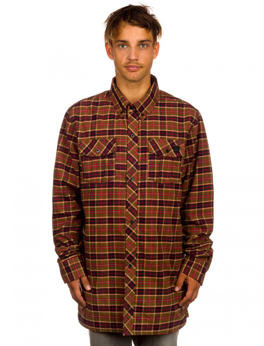 "Flannel Shirt {""id"":5,""product_section_id"":1,""name"":""Clothing"",""order"":5} Volcom"